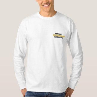 T-shirt À Manches Lomgues Brodée Maïs démodé de la bouilloire de Lehman