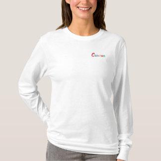 T-shirt À Manches Lomgues Brodée Namedrop Nation_Cancun multicolore