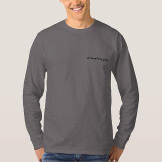 T-shirt À Manches Lomgues Brodée Sweathirt, Einstein, complètement
