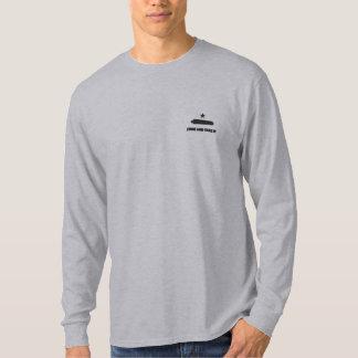 T-shirt À Manches Lomgues Brodée Venez le prendre a brodé la longue chemise de
