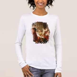 T-shirt À Manches Longues Achille à la cour du Roi Lycomedes avec son D