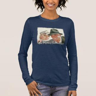 T-shirt À Manches Longues Am I getting sentimental ?
