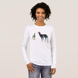 T-shirt À Manches Longues Art de lama