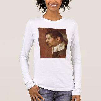 T-shirt À Manches Longues Autoportrait dans le profil (huile sur la toile)