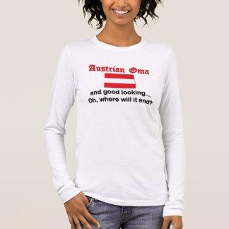 T-shirt À Manches Longues Autrichien bel Oma