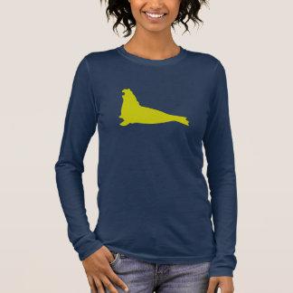 T-shirt À Manches Longues Avocat de chemise de joint d'éléphant