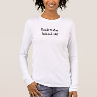 T-shirt À Manches Longues bac de teinture et appel