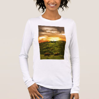T-shirt À Manches Longues Beauté africaine