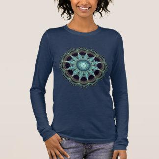T-shirt À Manches Longues Bella+La géométrie sacrée de longue douille de