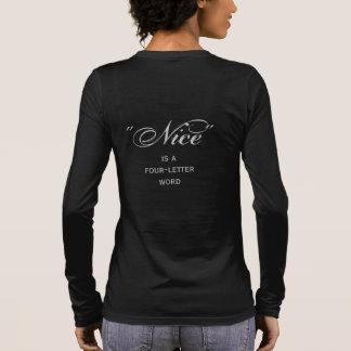 T-shirt À Manches Longues Belle du sud, enfant adulte, d'a