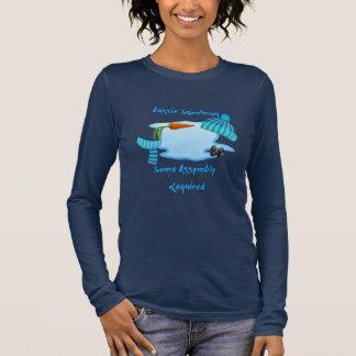T-shirt À Manches Longues Bonhomme de neige australien