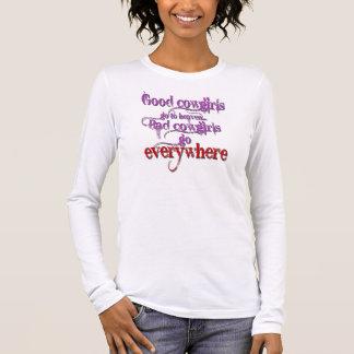 T-shirt À Manches Longues Bonnes cow-girls