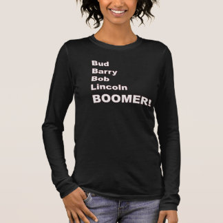 T-shirt À Manches Longues Bourgeon, Barry, Bob, Lincoln
