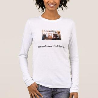 T-shirt À Manches Longues Bureau de poste, JamesTown, la Californie