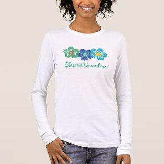 T-shirt À Manches Longues Chemise bénie de grand-maman