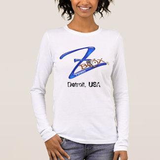 T-shirt À Manches Longues Chemise de logo de ZBOX-FM, Detroit
