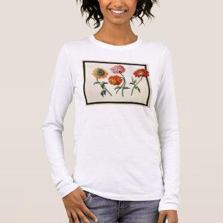 T-shirt À Manches Longues Chrysanthèmes (la semaine sur le papier)