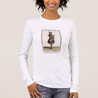 T-shirt À Manches Longues Cleante s'est habillé en tant que cavalier, le
