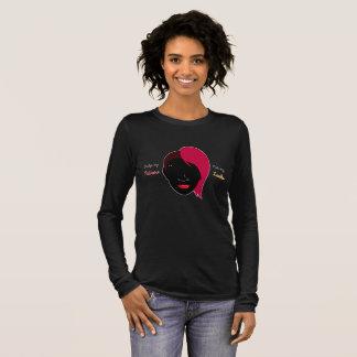 T-shirt À Manches Longues Conception de douilles de sembler d'actions pas