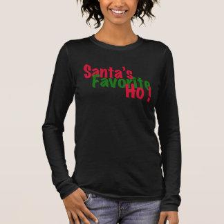 T-shirt À Manches Longues conception drôle de chemise de Noël du favori de