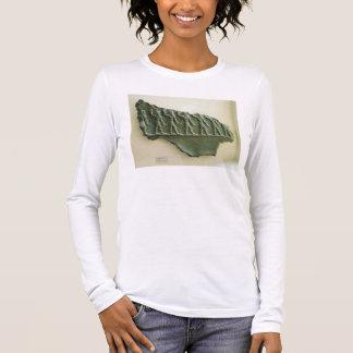 T-shirt À Manches Longues Cortège des guerriers d'Elamite, Susa, Iran,
