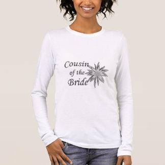 T-shirt À Manches Longues Cousin de la jeune mariée