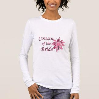 T-shirt À Manches Longues Cousin du rose de jeune mariée