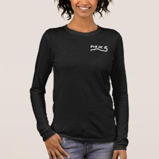 T-shirt À Manches Longues Damesshirt MX5 blanchir à la chaux le logo