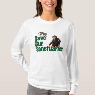 T-shirt à manches longues de dames de SOS