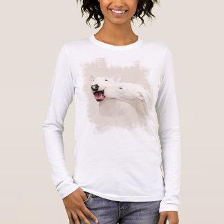 T-shirt À Manches Longues deux chiens d'amants