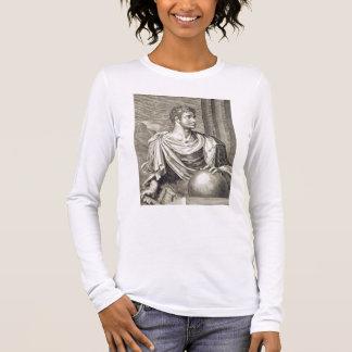 T-shirt À Manches Longues Empereur de D. Octavius Augustus (ANNONCE 63 AVANT