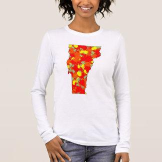 T-shirt À Manches Longues Érable du Vermont