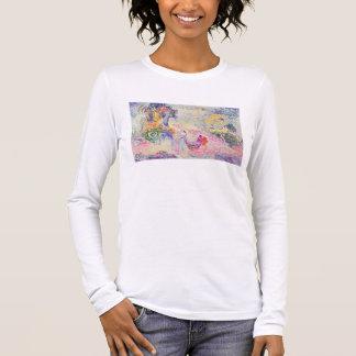 T-shirt À Manches Longues Femme en parc, 1909 (huile sur la toile)