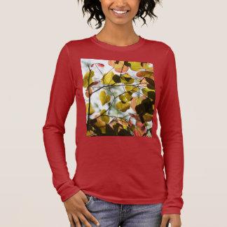 T-shirt À Manches Longues Feuille de Redbud