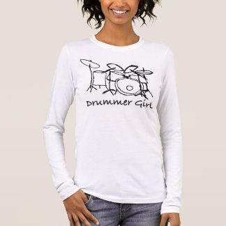 T-shirt À Manches Longues Fille de batteur