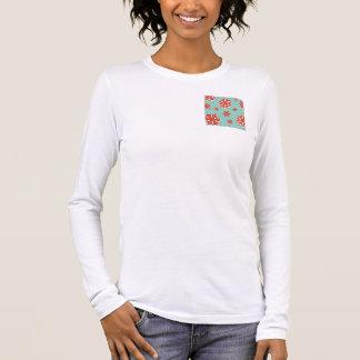 T-shirt À Manches Longues Flocons de neige