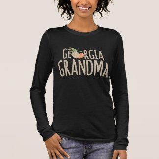 T-shirt À Manches Longues grand-maman de la Géorgie