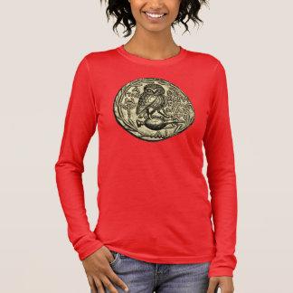 T-shirt À Manches Longues Hibou d'Athéna