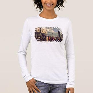 T-shirt À Manches Longues Honneurs funéraires donnés à Titian qui est mort