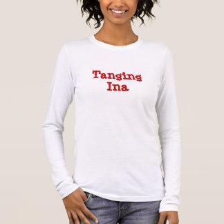 T-shirt À Manches Longues Ina munissant de soie