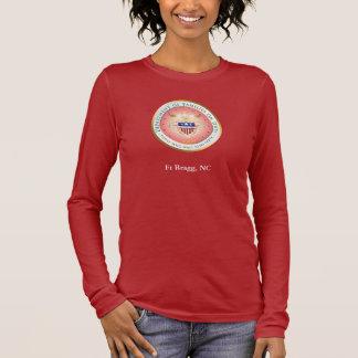 T-shirt À Manches Longues Joint en service de familles roses