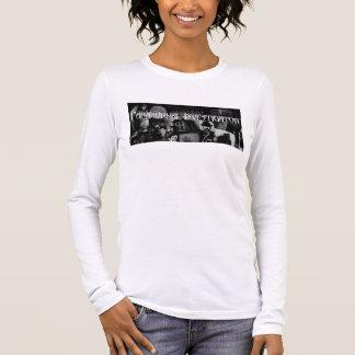 T-shirt À Manches Longues La longue douille T des femmes paranormales