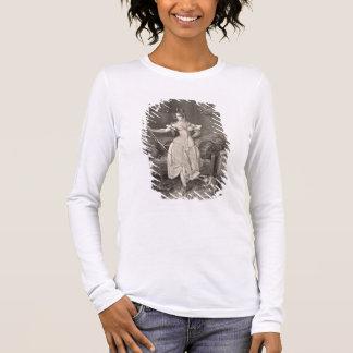 T-shirt À Manches Longues La Séjour-dentelle, gravée par Alfred Léon