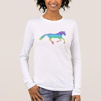 T-shirt À Manches Longues Le cheval peint