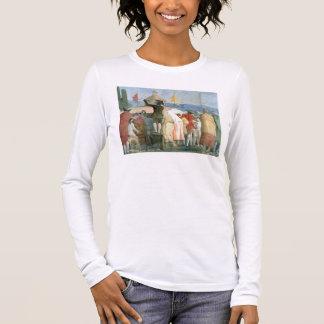 T-shirt À Manches Longues Le nouveau monde, 1791-97 (huile sur la toile)