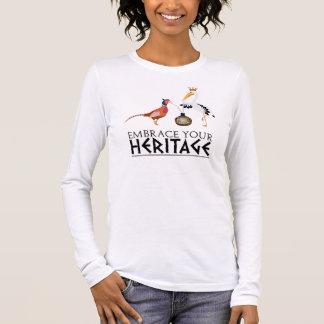 T-shirt À Manches Longues Le patrimoine culturel de Shikaya