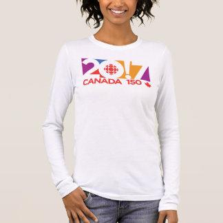 T-shirt À Manches Longues Logo 2017 de CBC/Radio-Canada