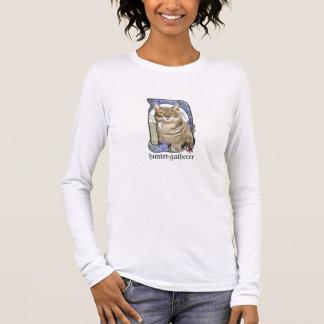 T-shirt À Manches Longues Longue chemise de Sleevs de chasseur-cueilleur