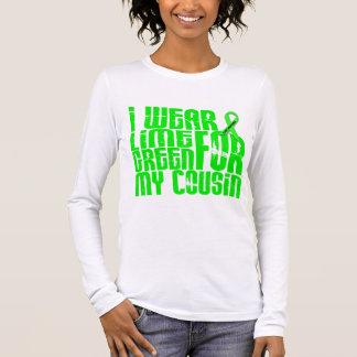 T-shirt À Manches Longues Lymphome MON HÉROS MON COUSIN 42