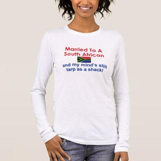 T-shirt À Manches Longues Marié à un sud-africain